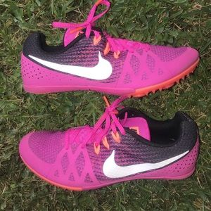 Nike spikes track shoes